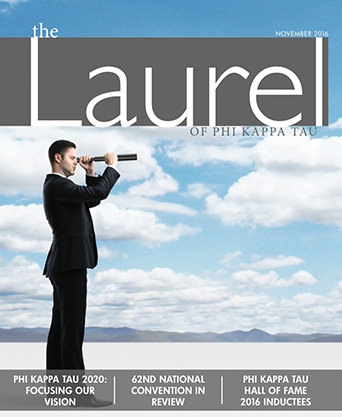 The Laurel Fall 2016 Cover