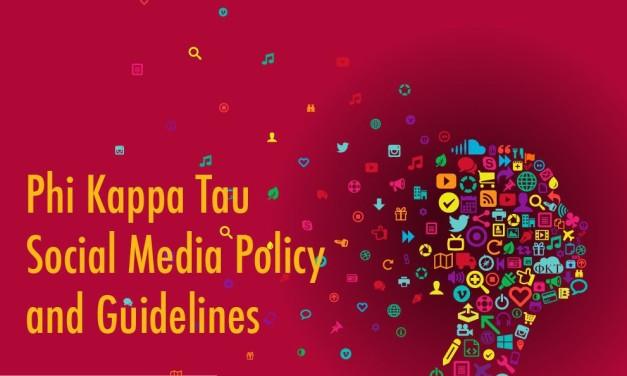 Phi Kappa Tau Releases Social Media Policy