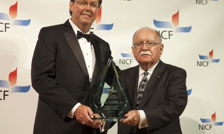 Mark Bauer Received NICF William D. Jenkins Outstanding Foundation Professional Award