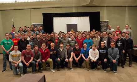 Phi Kappa Tau Welcomes Over One-Hundred Attendees at January Training