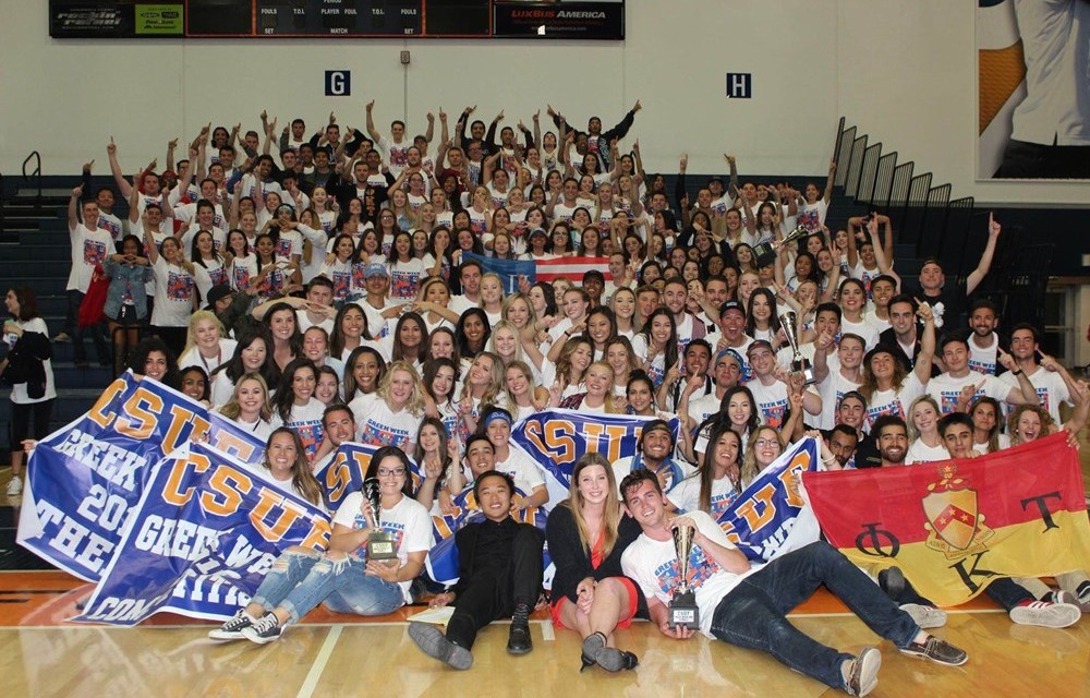 Cal State-Fullerton Completes Greek Week