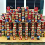 Centre Donates Cans For Campus Food Drive