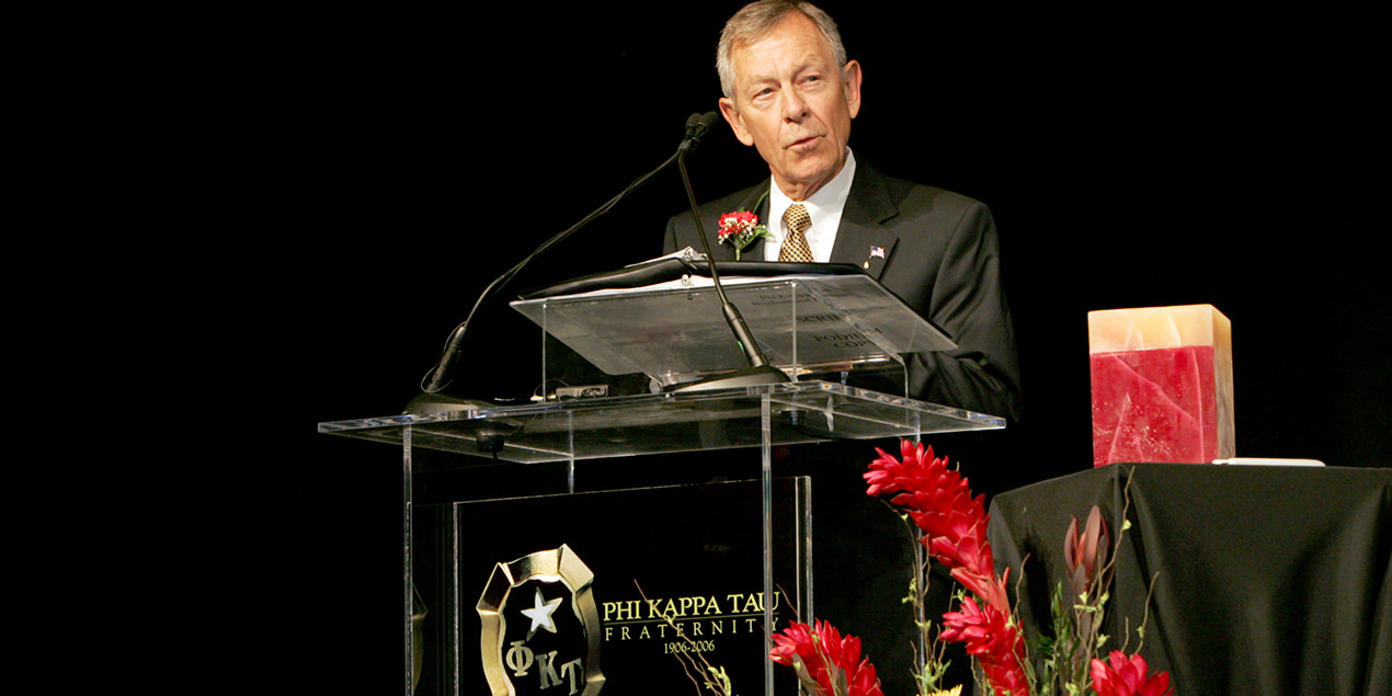 Hall of Famer Sen. George V. Voinovich Enters Chapter Eternal