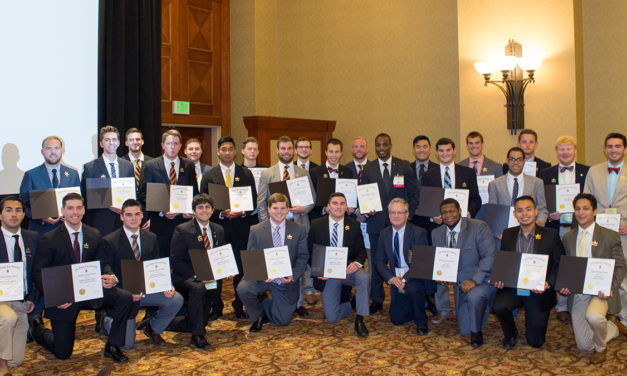 Thirty-Nine Chapters Receive the Academic Excellence Award