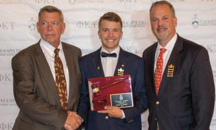 Dethlefs Receives Dwight I. Douglass Award
