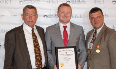 Smith Receives Taylor A. Borradaile Award