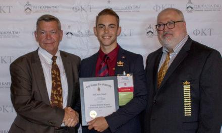 Cal State-Fullerton Earns Jack Jareo Award