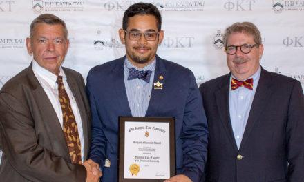 Old Dominion Awarded Richard G. Massock Award