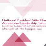National President Mike Dovilla Announces Leadership Team