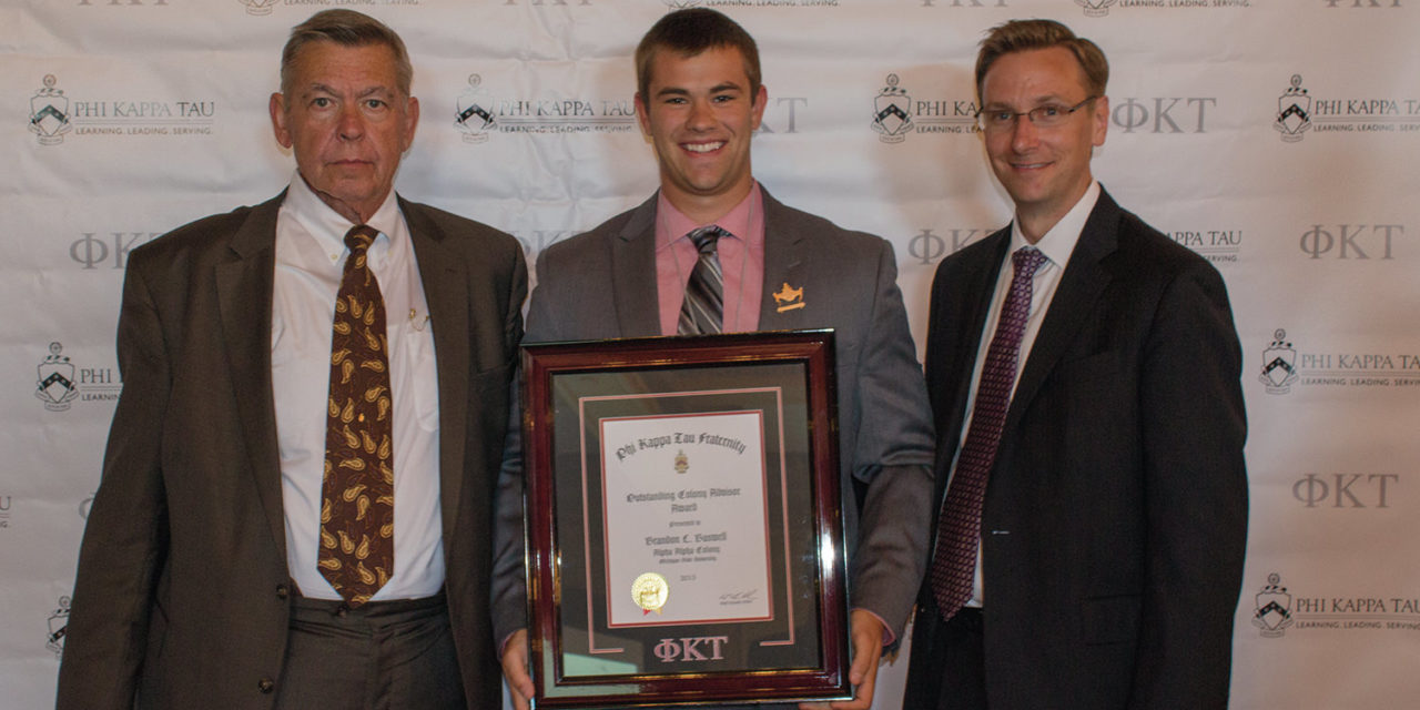 Baswell Recognized as Outstanding Colony Advisor