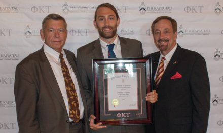 Saxon Nelson Receives William D. Jenkins Award