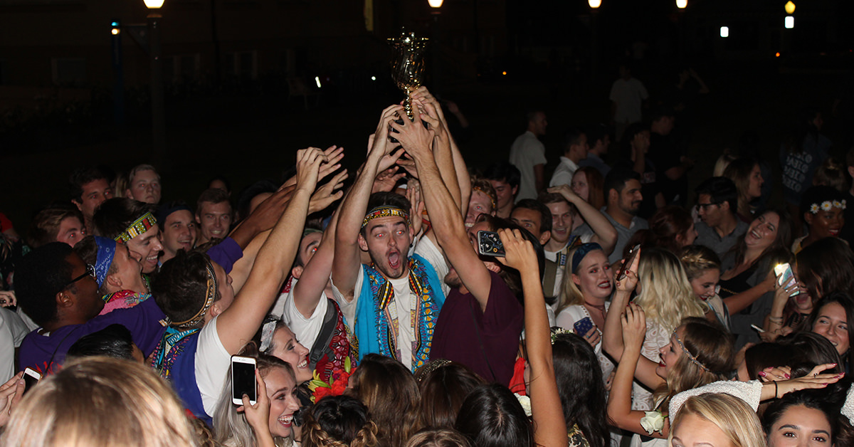 Chapman Takes First Place in Campus Airband