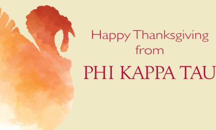 Happy Thanksgiving From Phi Kappa Tau