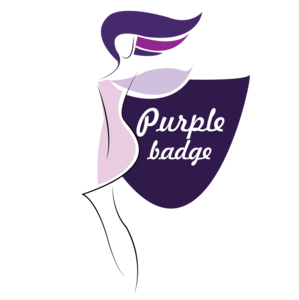Purple badge limited image