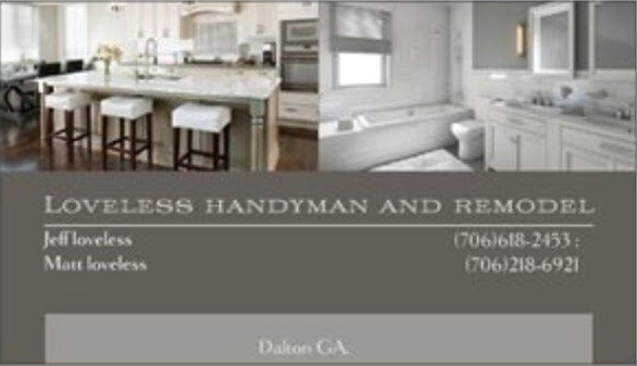 Loveless Handyman And Remodel image
