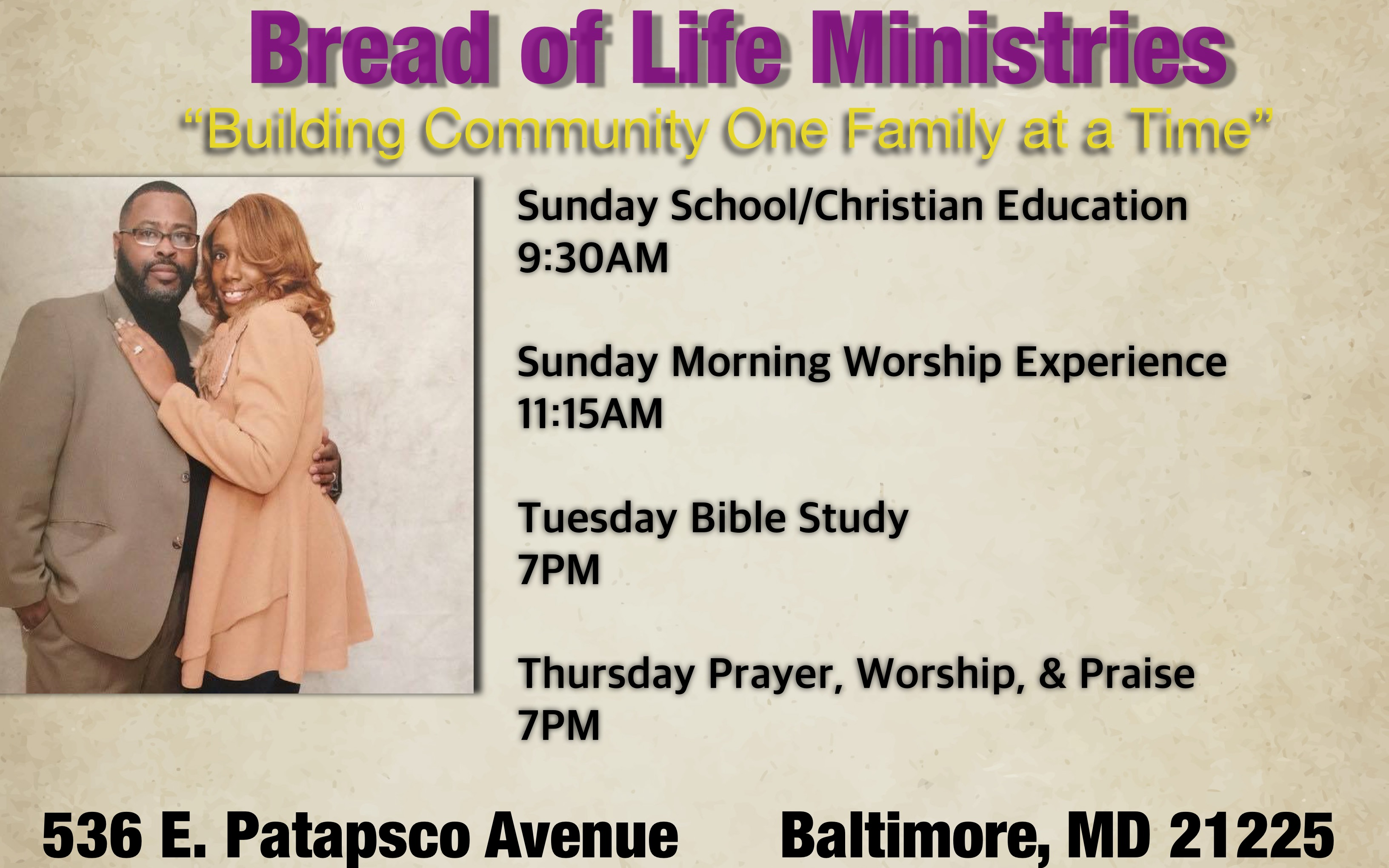 Bread of Life International Ministries image
