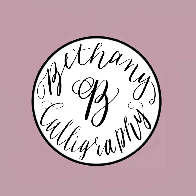 Bethany B Calligraphy image