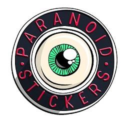 PARANOID STICKERS image
