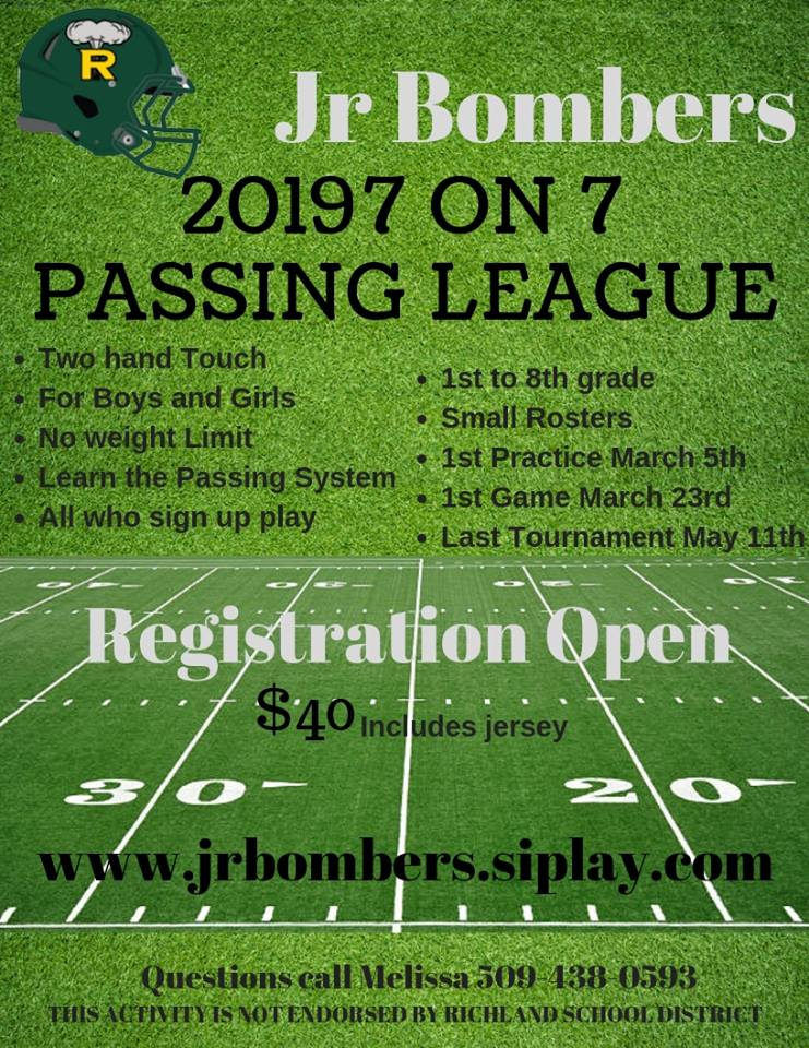 Jr. Bombers Youth Football image
