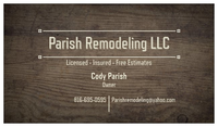 Parish Remodeling LLC. image