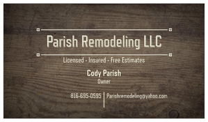 Parish Remodeling LLC. primary image