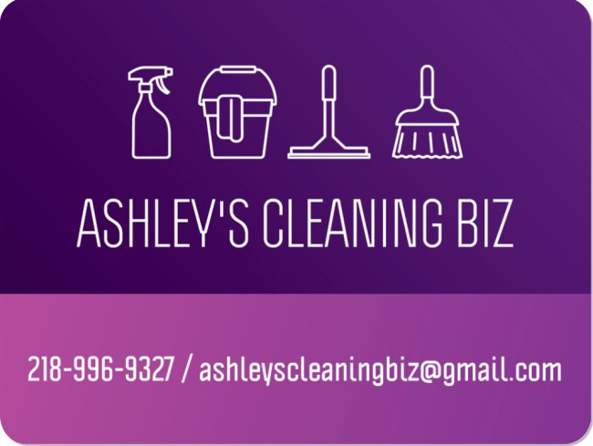 Ashley Fiedler's Cleaning Biz image