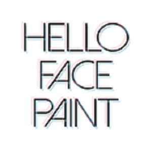 Hello Face Paint image