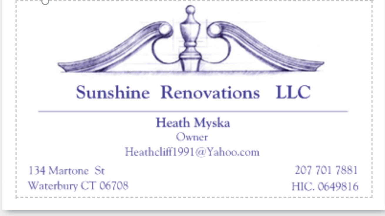 Sunshine Renovations LLC primary image