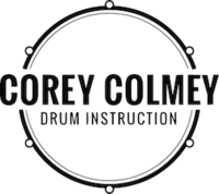 Corey Colmey Drum Instruction image