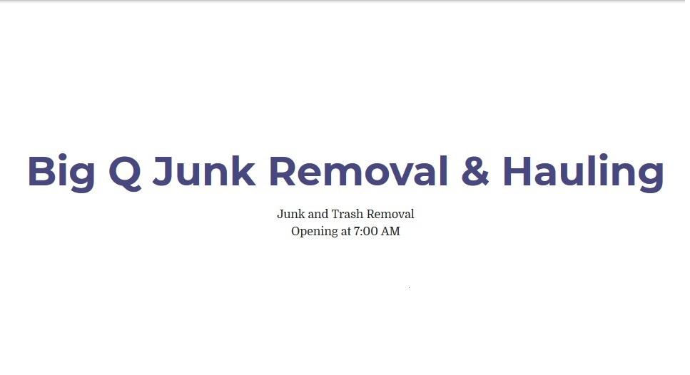 Big Q junk Removal & Hauling image
