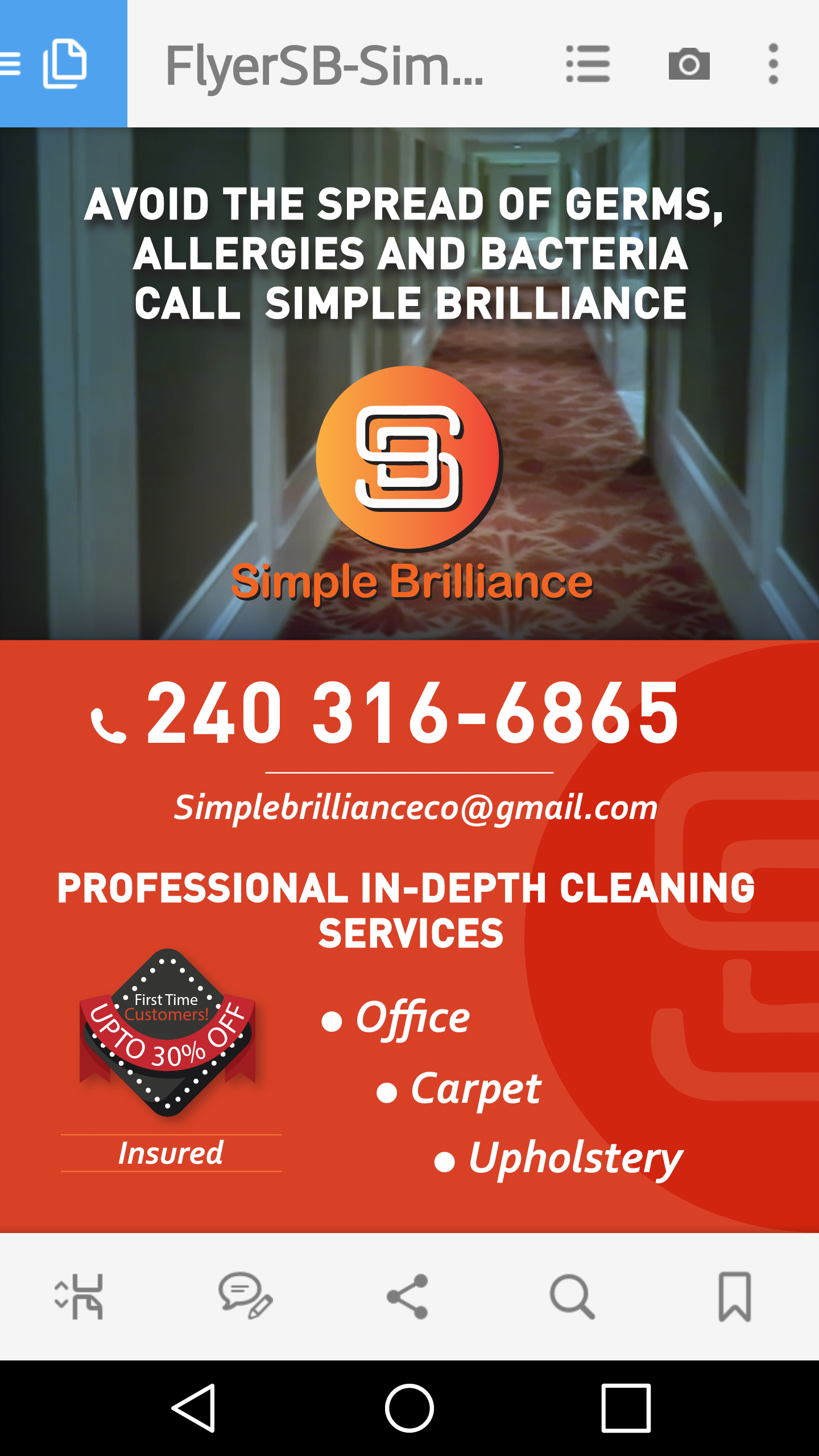 Simple Brilliance Cleaning and Handyman Services image