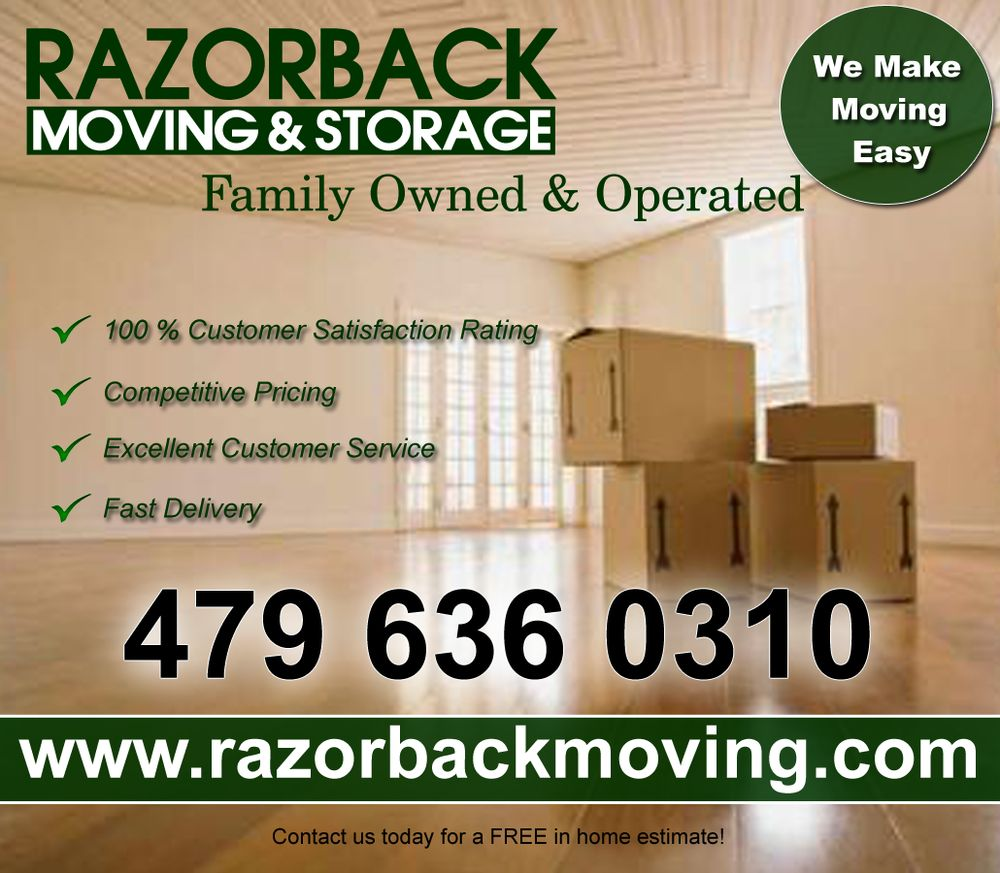Razorback Moving LLC image