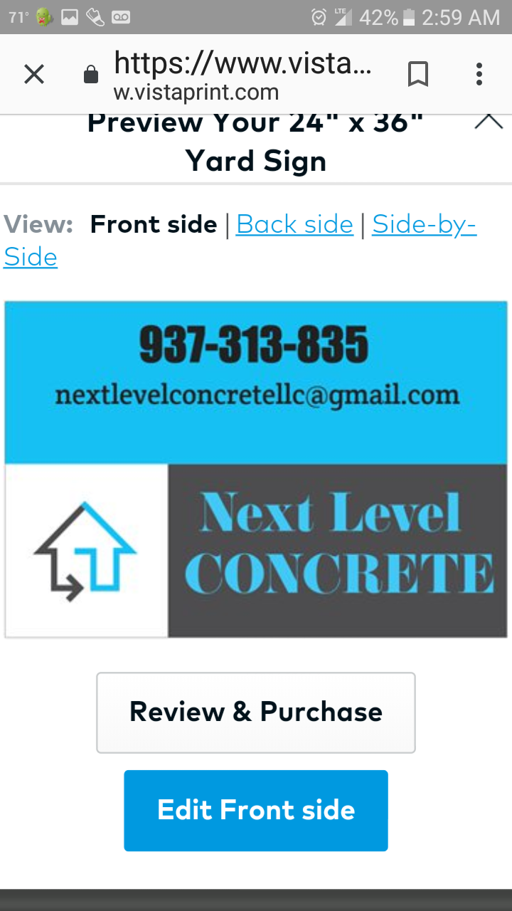 Next Level Concrete Llc primary image