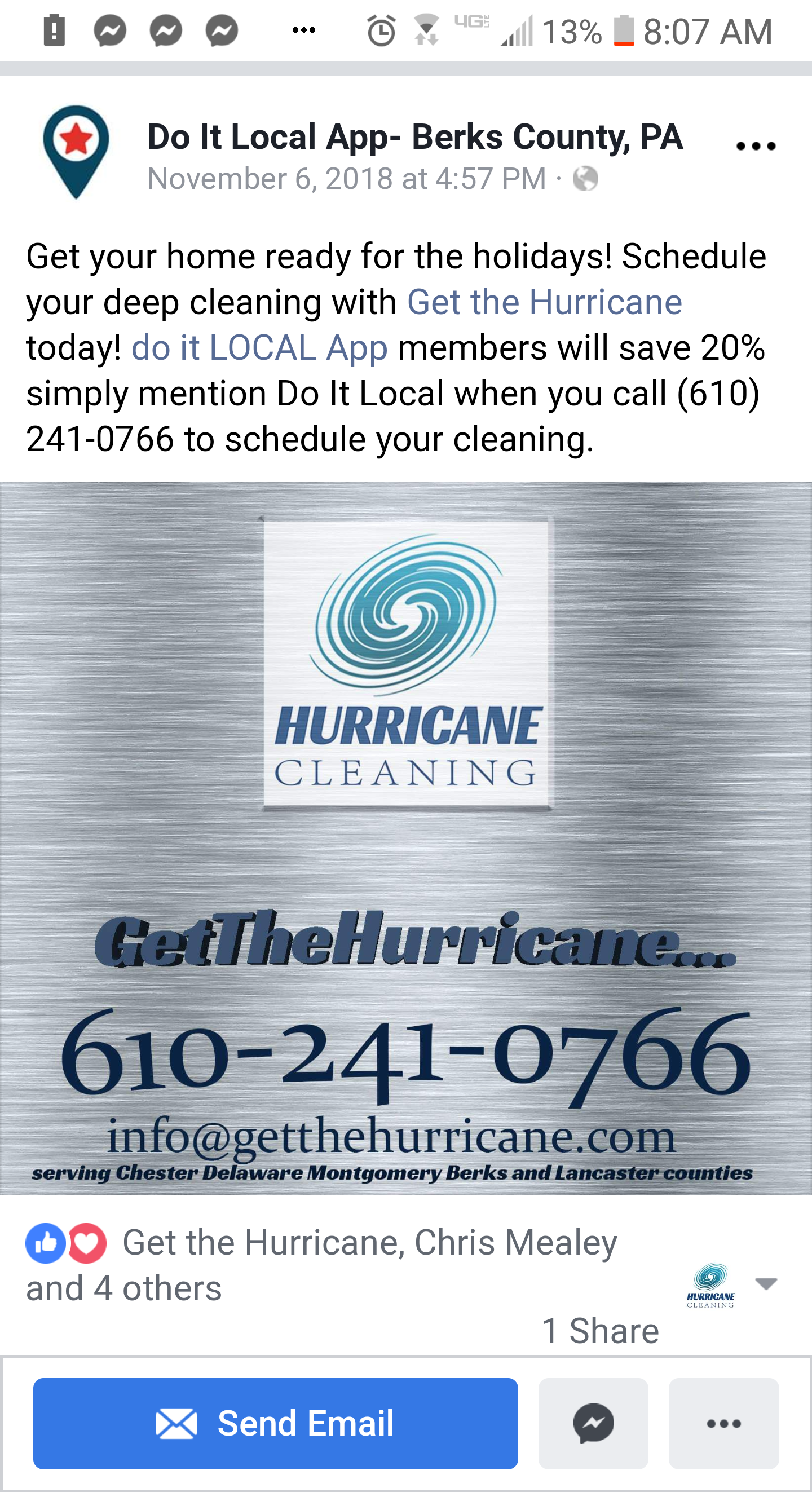 Hurricane Services llc image
