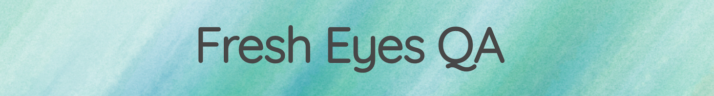 Fresh Eyes QA primary image