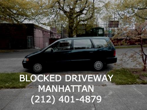 Blocked Driveway Towing Manhattan image