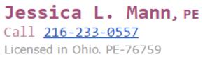 Jessica L Mann PE LLC primary image