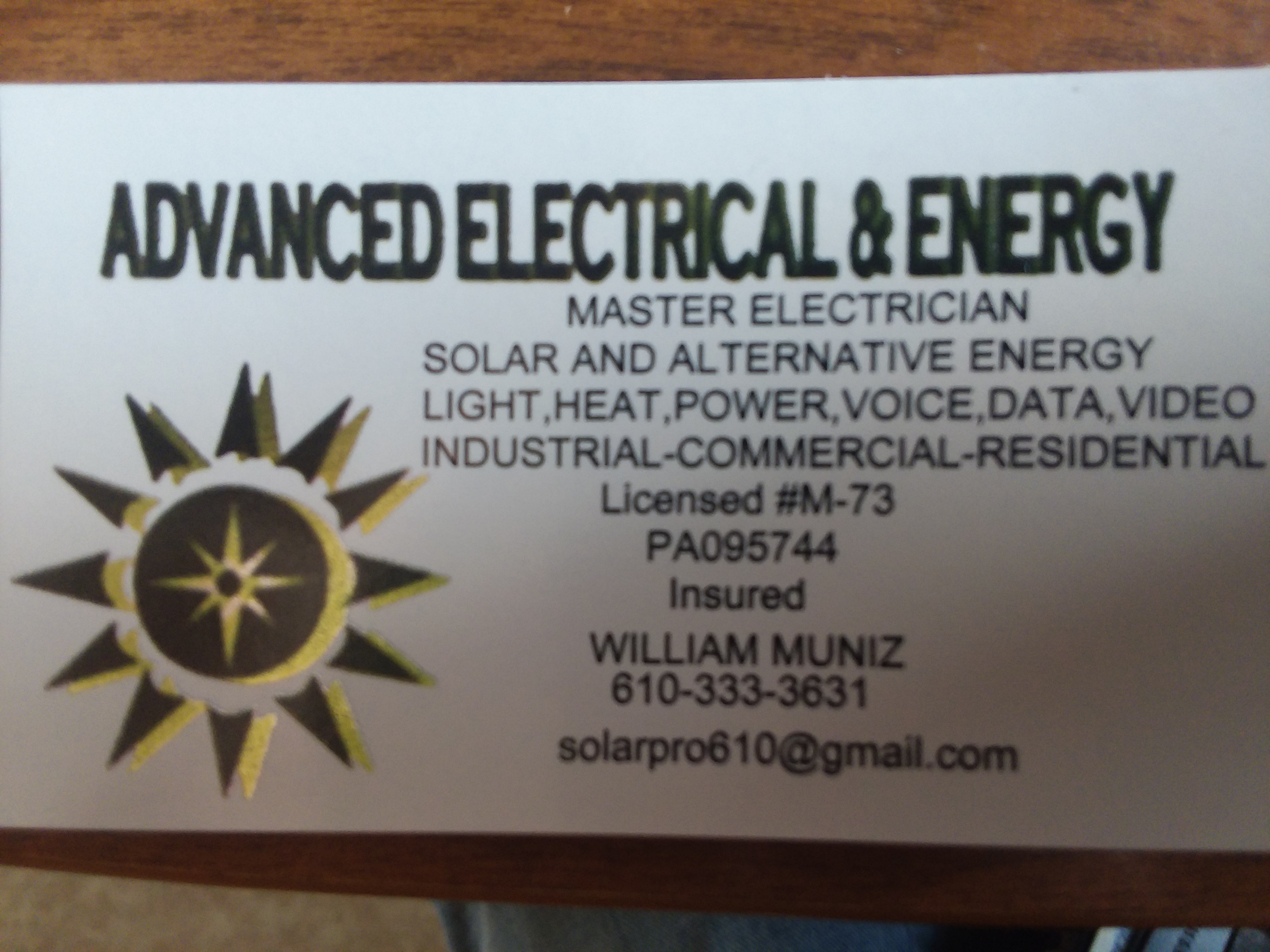 Advanced Electrical and Energy image