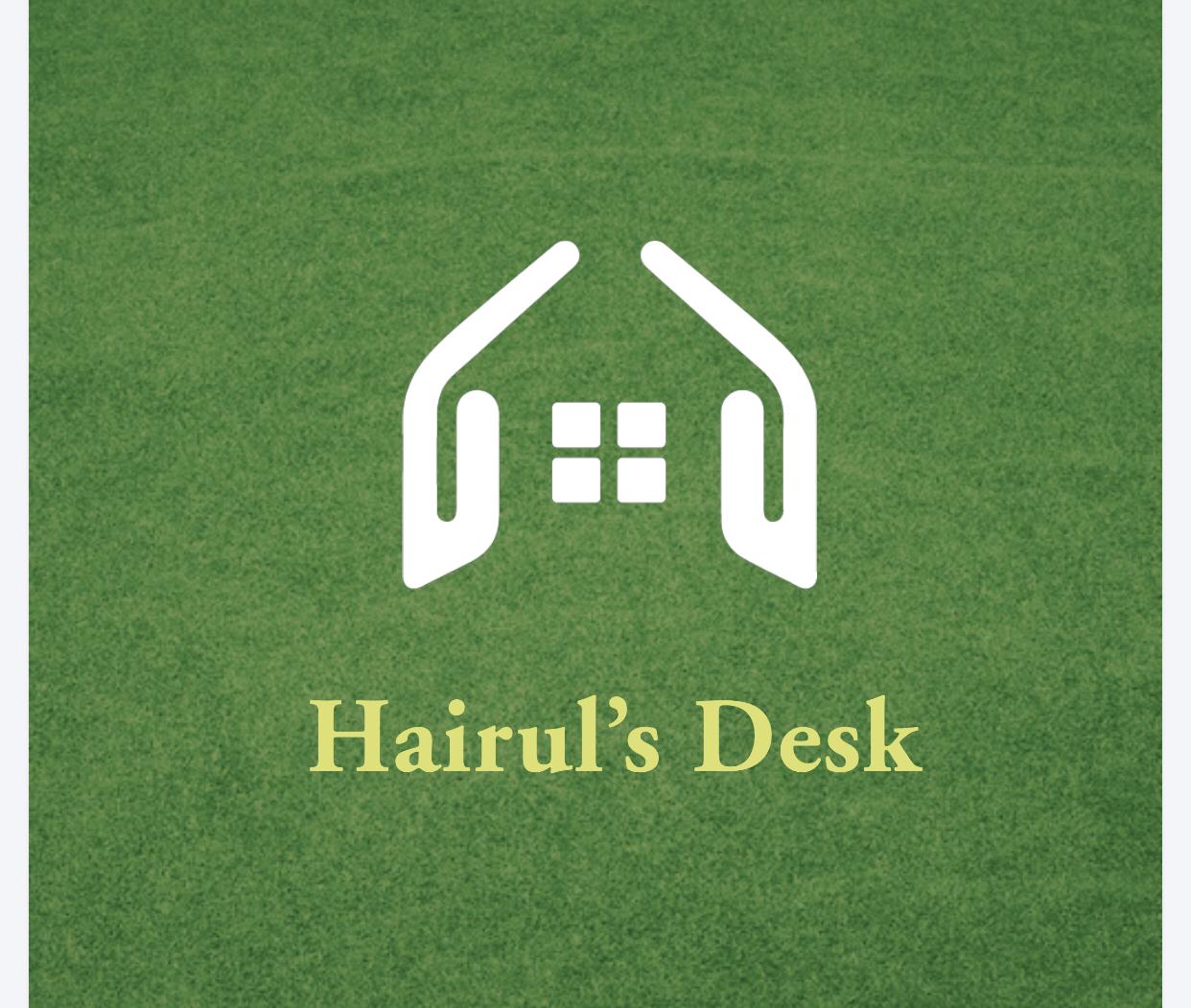 Hairul's Desk image