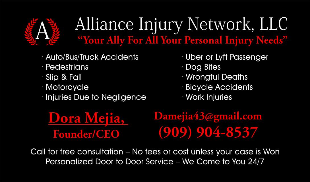 ALLIANCE INJURY NETWORK LLC image