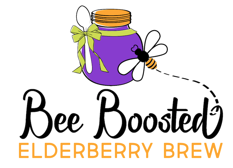 Bee Boosted Elderberry Brew image
