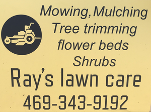 Ray's lawn care  image