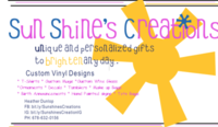 Sunshine's Creations image