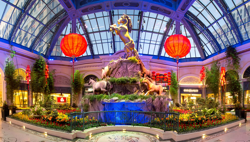 Bellagiao Horse Display