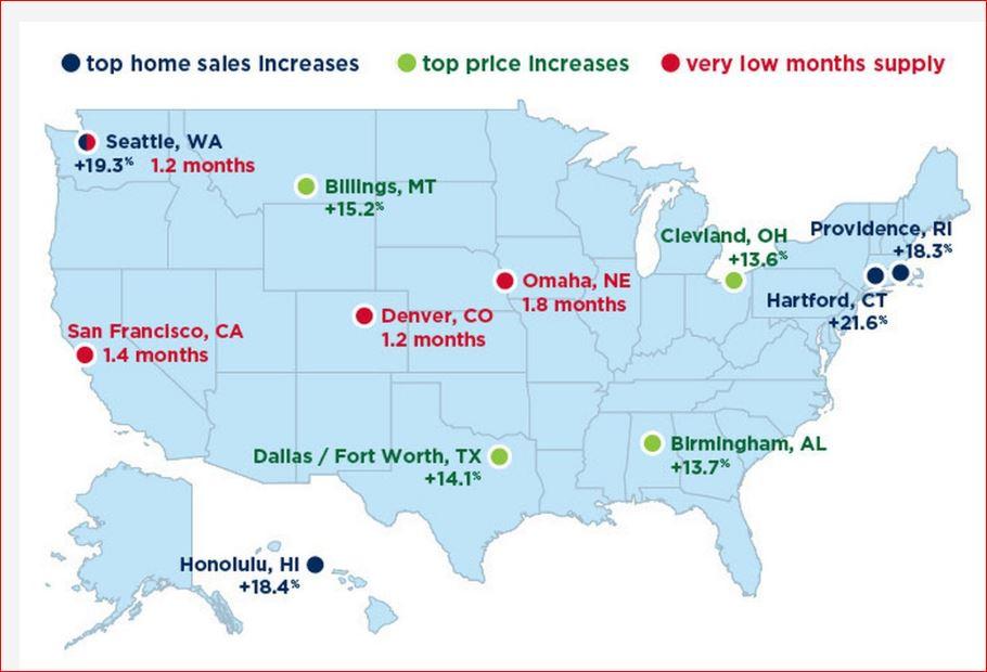 Denver Real Estate Map on