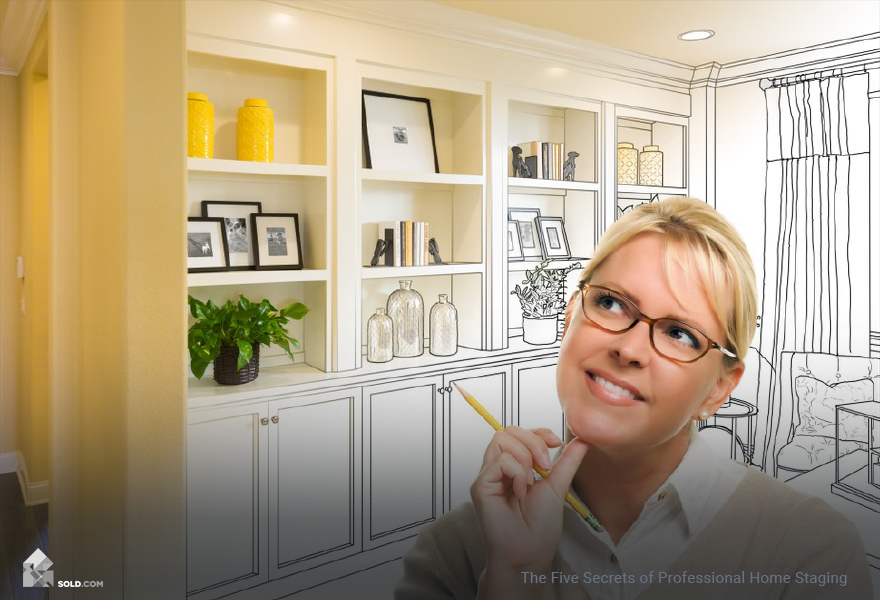 The five secrets of professional home staging