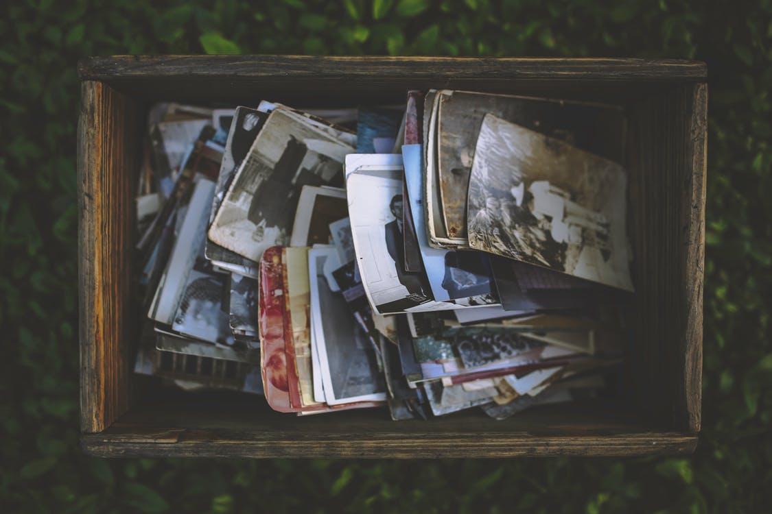 People vintage photo memories