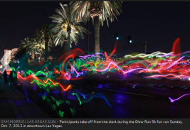 2012 las vegas glow run 2