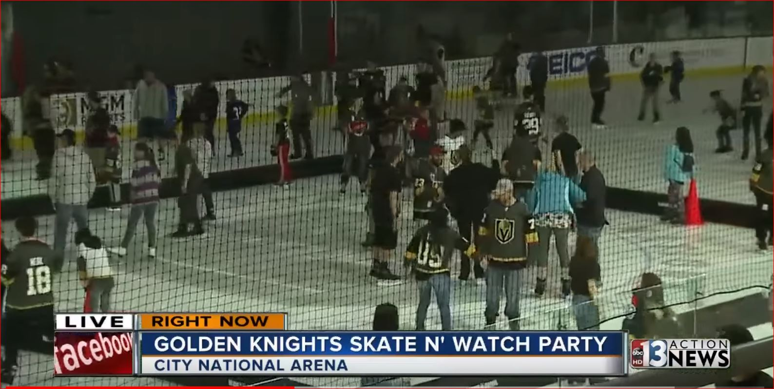 GOLDEN KNIGHTS SKATE AND WATCH PARTY