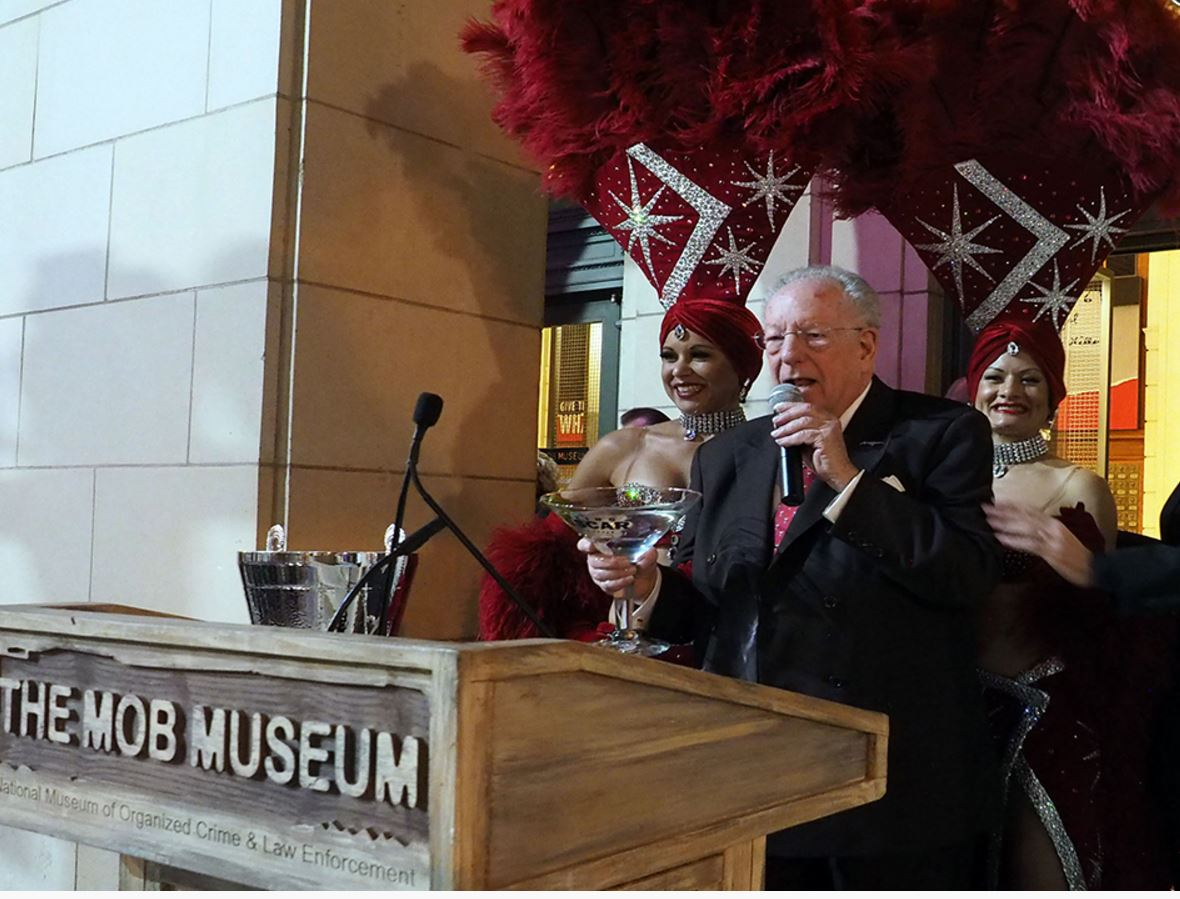 OSCAR GOODMAN AT MOB MUSEUM